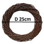 3-BrownD25cm